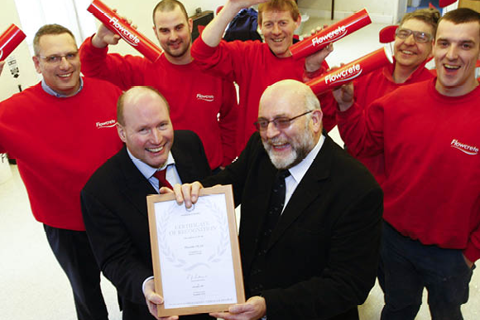 2007 | Flowcrete Secures Investors in People & Queen's Award Success