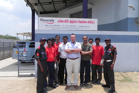 2010 | Flowcrete Taps into the Growing Indian Marketplace